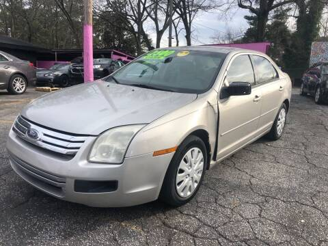 2008 Ford Fusion for sale at Fast and Friendly Auto Sales LLC in Decatur GA