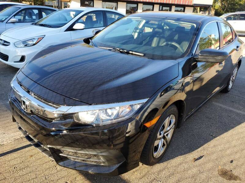 2019 Honda Civic for sale at THE TRAIN AUTO SALES & LEASING in Mauldin SC