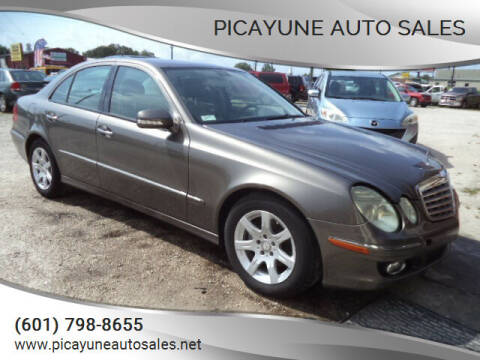 2009 Mercedes-Benz E-Class for sale at PICAYUNE AUTO SALES in Picayune MS