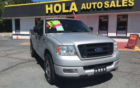 2005 Ford F-150 for sale at HOLA AUTO SALES CHAMBLEE- BUY HERE PAY HERE - in Atlanta GA