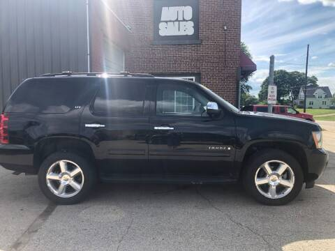 2008 Chevrolet Tahoe for sale at LeDioyt Auto in Berlin WI