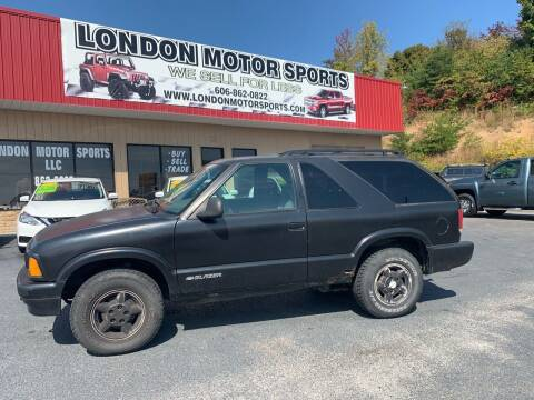 1996 Chevrolet Blazer for sale at London Motor Sports, LLC in London KY
