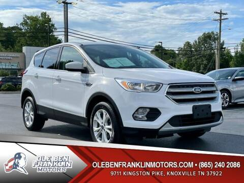 2019 Ford Escape for sale at Ole Ben Franklin Motors Clinton Highway in Knoxville TN