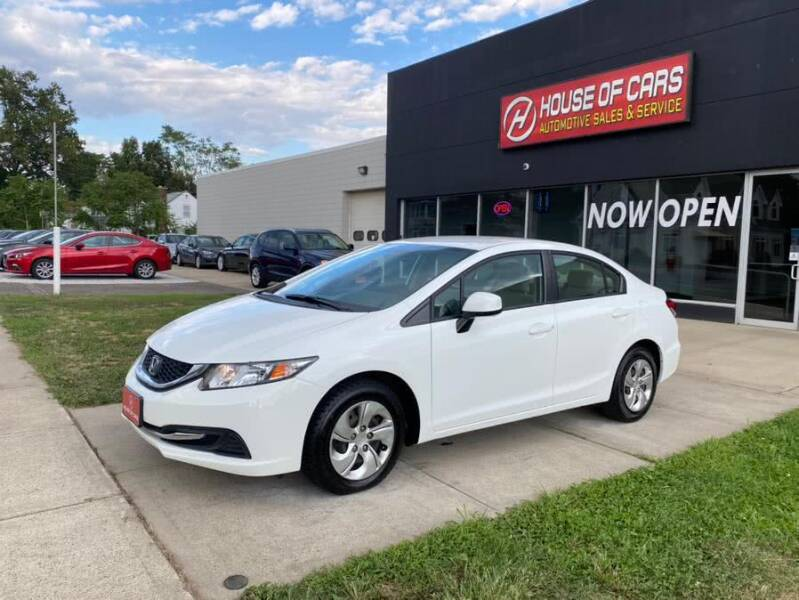2013 Honda Civic for sale at HOUSE OF CARS CT in Meriden CT