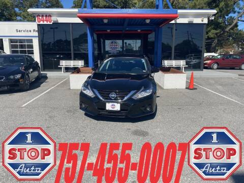 2017 Nissan Altima for sale at 1 Stop Auto in Norfolk VA