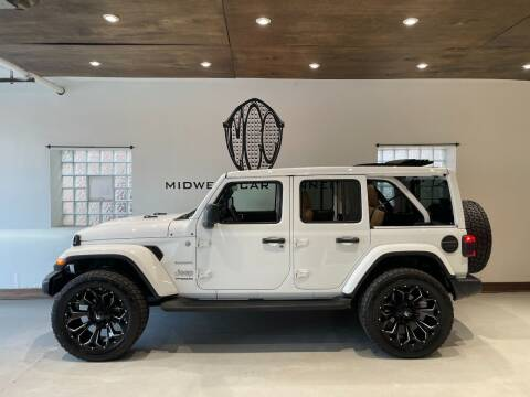 2020 Jeep Wrangler Unlimited for sale at Midwest Car Connect in Villa Park IL