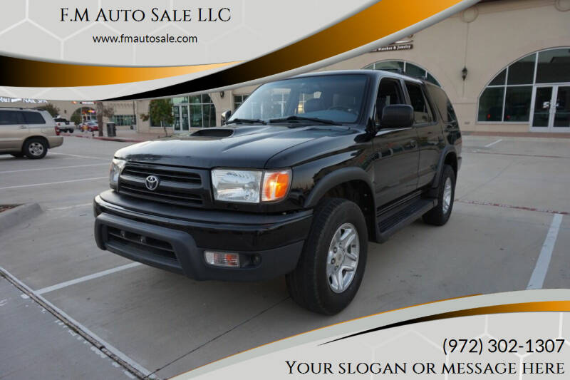 1999 Toyota 4Runner for sale at F.M Auto Sale LLC in Dallas TX