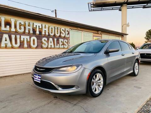 2015 Chrysler 200 for sale at Lighthouse Auto Sales LLC in Grand Junction CO
