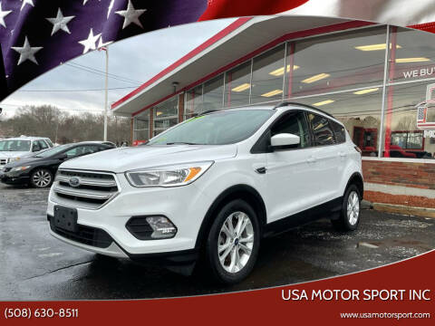 2018 Ford Escape for sale at USA Motor Sport inc in Marlborough MA