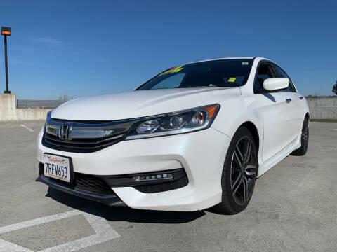2016 Honda Accord for sale at BAY AREA CAR SALES in San Jose CA