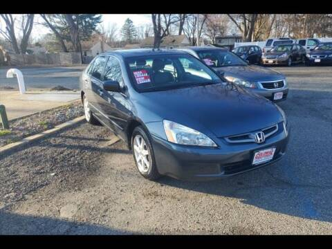 2005 Honda Accord for sale at Colonial Motors in Mine Hill NJ