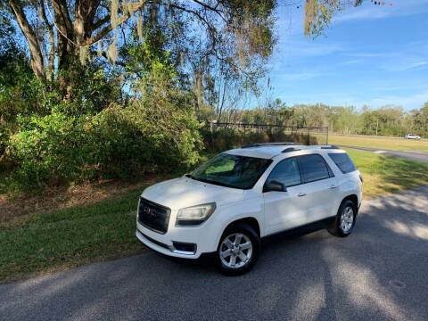 2013 GMC Acadia for sale at ICar Florida in Lutz FL