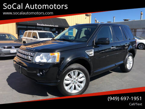 2012 Land Rover LR2 for sale at SoCal Automotors in Costa Mesa CA