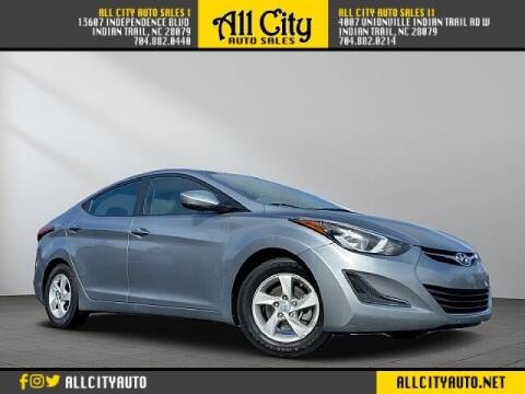 2015 Hyundai Elantra for sale at All City Auto Sales in Indian Trail NC