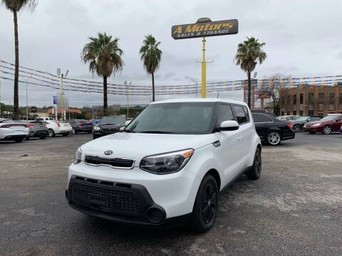 2015 Kia Soul for sale at A MOTORS SALES AND FINANCE in San Antonio TX