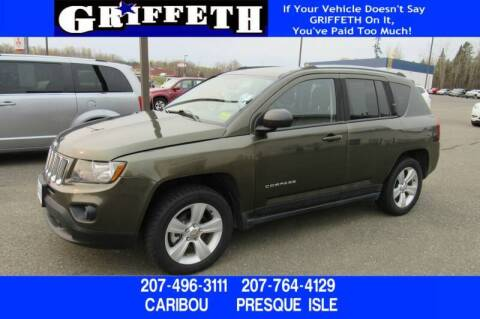 2016 Jeep Compass for sale at Griffeth Mitsubishi - Pre-owned in Caribou ME