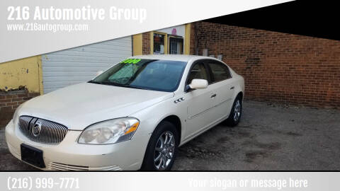 2008 Buick Lucerne for sale at 216 Automotive Group in Cleveland OH