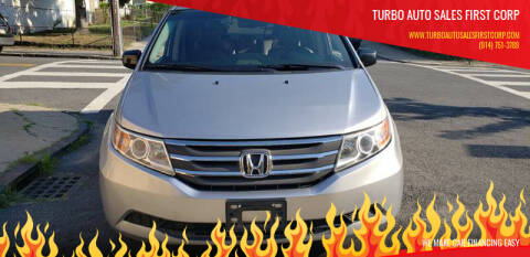 2012 Honda Odyssey for sale at TURBO Auto Sales First Corp in Yonkers NY