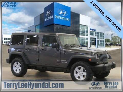 2017 Jeep Wrangler Unlimited for sale at Terry Lee Hyundai in Noblesville IN