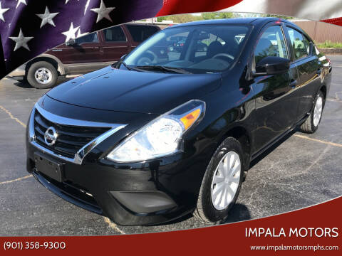 2017 Nissan Versa for sale at IMPALA MOTORS in Memphis TN