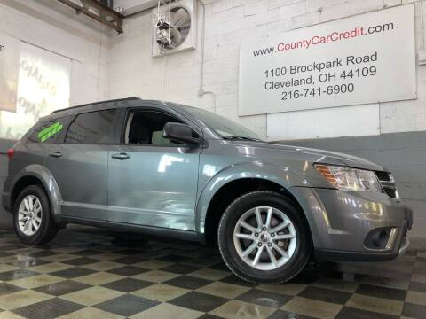 2013 Dodge Journey for sale at County Car Credit in Cleveland OH