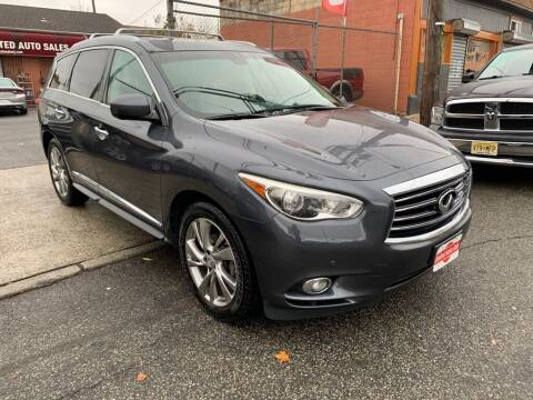 2013 Infiniti JX35 for sale at United Auto Sales of Newark in Newark NJ