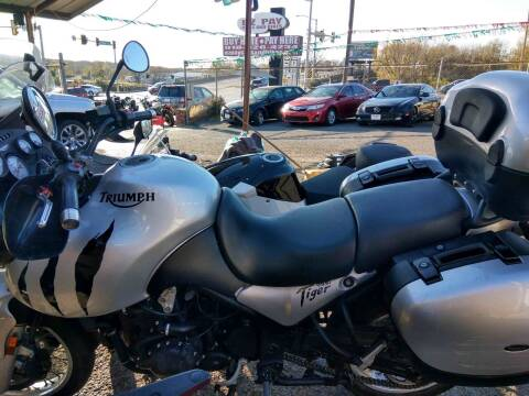 2004 Kawasaki Tiger for sale at E-Z Pay Used Cars in McAlester OK