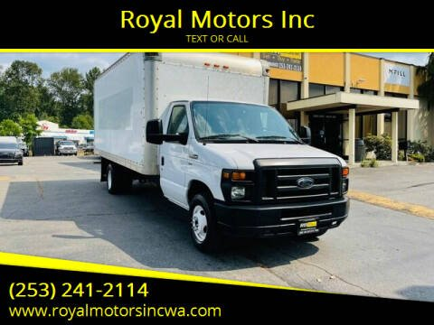 2013 Ford E-Series Chassis for sale at Royal Motors Inc in Kent WA