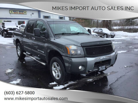 2006 Nissan Titan for sale at Mikes Import Auto Sales INC in Hooksett NH