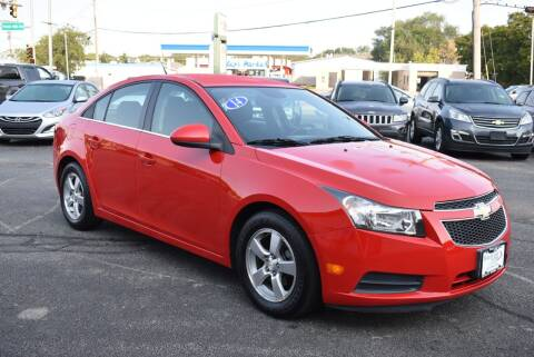 2014 Chevrolet Cruze for sale at World Class Motors in Rockford IL