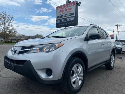 2015 Toyota RAV4 for sale at Unlimited Auto Group in West Chester OH
