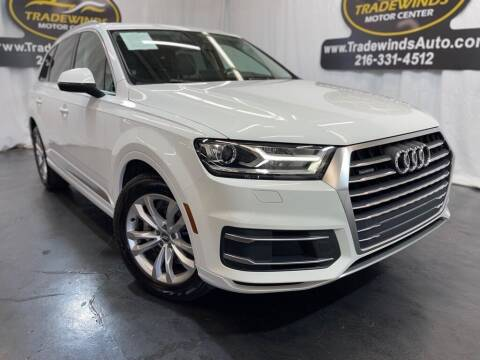 2017 Audi Q7 for sale at TRADEWINDS MOTOR CENTER LLC in Cleveland OH