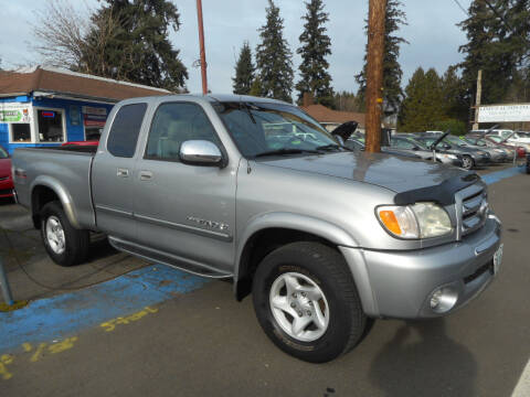 2003 Toyota Tundra for sale at Lino's Autos Inc in Vancouver WA
