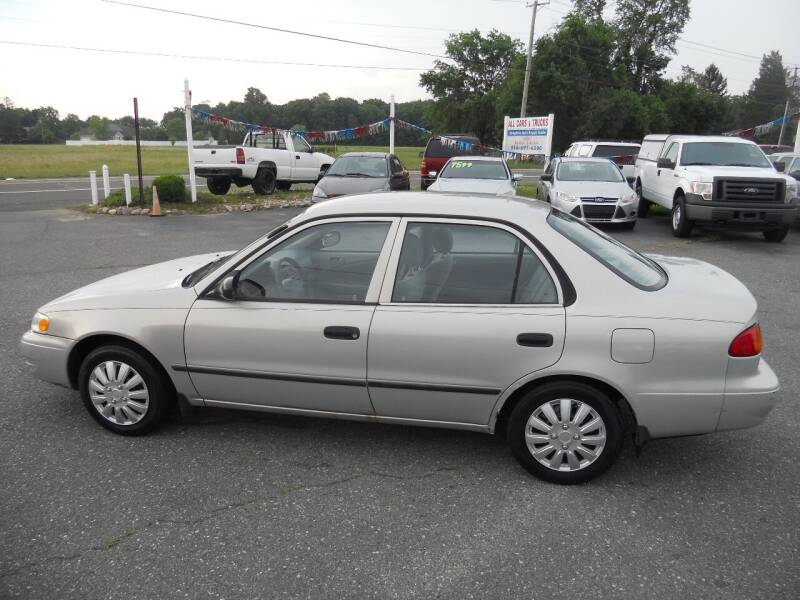 2000 Toyota Corolla for sale at All Cars and Trucks in Buena NJ