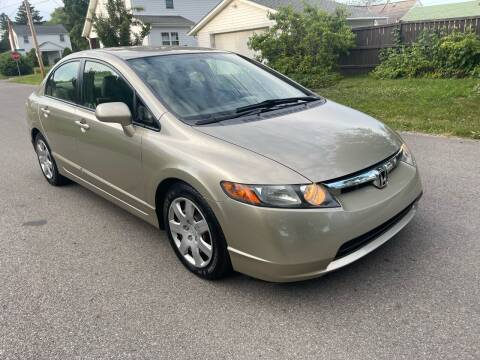 2008 Honda Civic for sale at Via Roma Auto Sales in Columbus OH