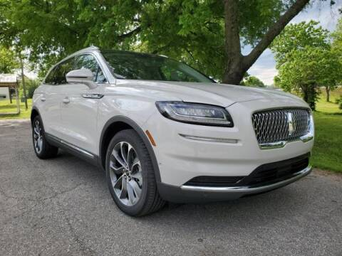 2021 Lincoln Nautilus for sale at Vance Fleet Services in Guthrie OK