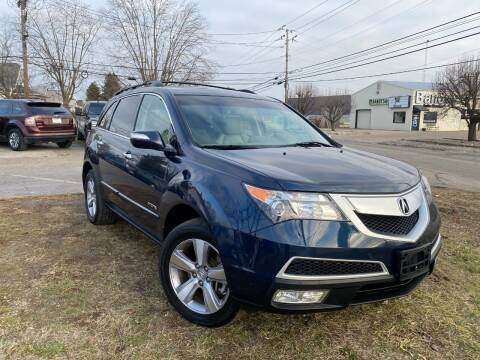 2012 Acura MDX for sale at A Class Auto Sales in Indianapolis IN