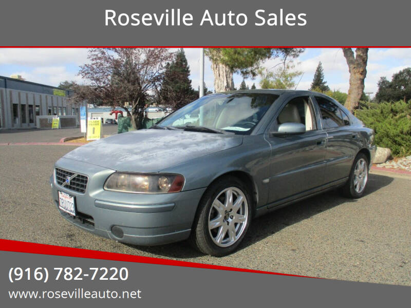 2005 Volvo S60 for sale at Roseville Auto Sales in Roseville CA