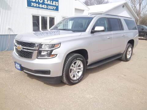 2016 Chevrolet Suburban for sale at Wieser Auto INC in Wahpeton ND