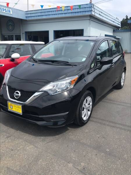 2019 Nissan Versa Note for sale at HARE CREEK AUTOMOTIVE in Fort Bragg CA