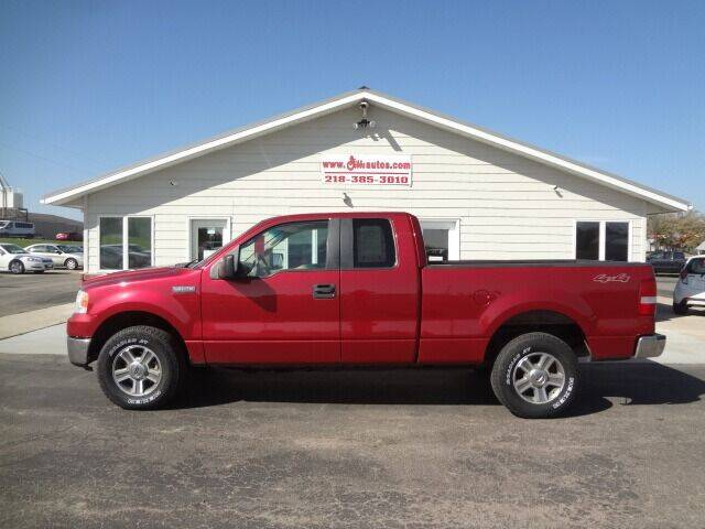 2008 Ford F-150 for sale at GIBB'S 10 SALES LLC in New York Mills MN