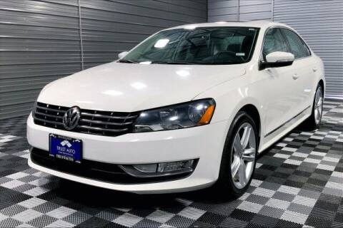 2014 Volkswagen Passat for sale at TRUST AUTO in Sykesville MD