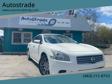 2010 Nissan Maxima for sale at Autostrade in Indianapolis IN