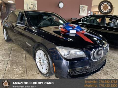 2014 BMW 7 Series for sale at Amazing Luxury Cars in Snellville GA