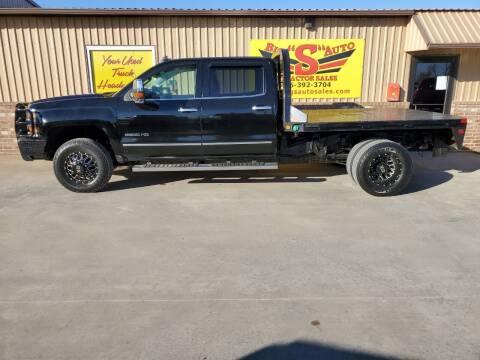2016 Chevrolet Silverado 3500HD for sale at BIG 'S' AUTO & TRACTOR SALES in Blanchard OK