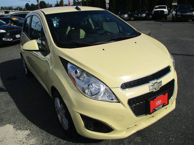 2013 Chevrolet Spark for sale at GMA Of Everett in Everett WA