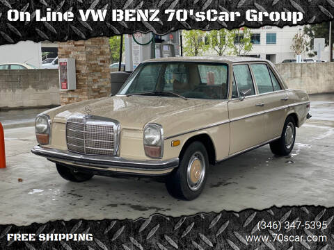 1970 Mercedes-Benz 220 Diesel for sale at On Line VW BENZ 70'sCar Group in Warehouse CA