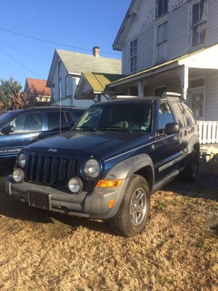 2005 Jeep Liberty for sale at Village Auto Center INC in Harrisonburg VA