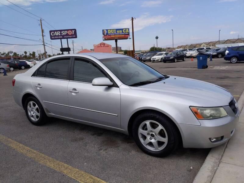 2006 Hyundai Sonata for sale at Car Spot in Las Vegas NV