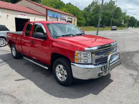 2012 Chevrolet Silverado 1500 for sale at THE AUTOMOTIVE CONNECTION in Atkins VA